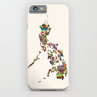 7,107 Islands | A Map of the Philippines iPhone 6 Slim Case
