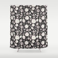 Ditsy Fall Florals  Shower Curtain