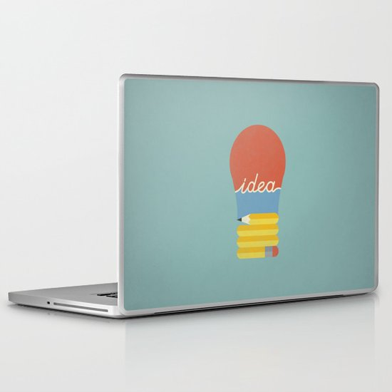 I've Got An Idea Laptop & iPad Skin