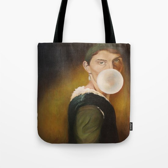 hanging out in history Tote Bag