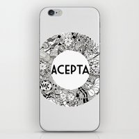 Acepta iPhone & iPod Skin