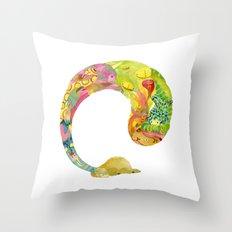 Alpaca Dream #1 Throw Pillow