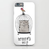 iPhone & iPod Case featuring What's up? by missmalagata