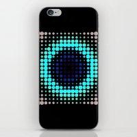 Breathing bullseye in Red iPhone & iPod Skin