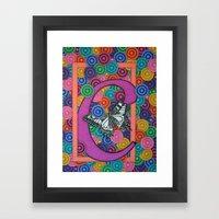 Butterfly C Framed Art Print