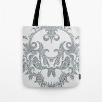 Killer Skull Tote Bag