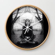 Meditate 2 Wall Clock