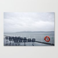 Ferries Canvas Print