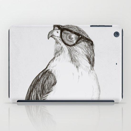 Hawk with Poor Eyesight iPad Case