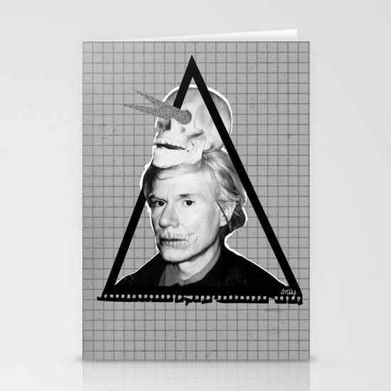 Andy Warholian Stationery Card