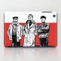 Three dudes iPad Case