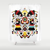 Morning Apple Shower Curtain