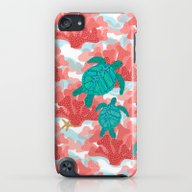 iPhone & iPod Case featuring Sea Turtles In The Coral… by Shelly Penko
