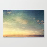 Margate Sunset Canvas Print