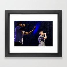 Macklemore & Ryan Lewis Framed Art Print