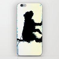 Blues Dog iPhone & iPod Skin