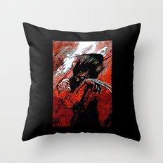 Berserker Wolvie - 2008 Throw Pillow
