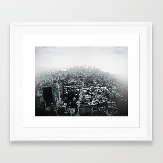 New York in 20 pics - Pic 16. Framed Art Print