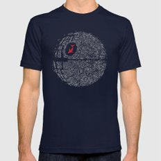 Fish Star Mens Fitted Tee Navy SMALL