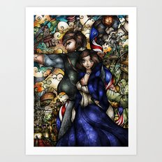 Put Your Faith In Her Art Print