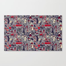 I'm Sensing A Pattern Here Canvas Print