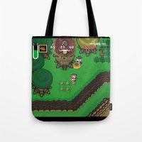 A Link To The Past Tote Bag