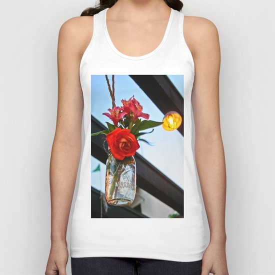 Outdoor Decor Unisex Tank Top