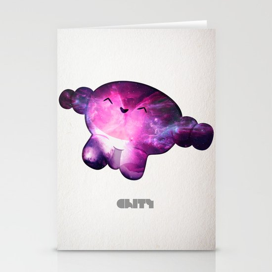 Nebula Stationery Card