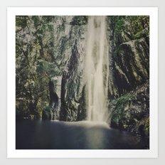 Niagara Falls BC Art Print