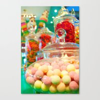 The Candy Store Canvas Print