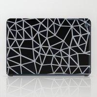 Segment Grey and Black iPad Case