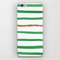 Sparkle Stripe II iPhone & iPod Skin
