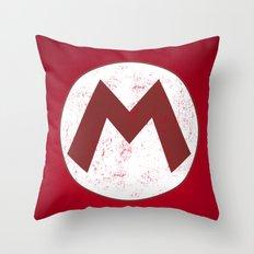 Mario Hero Throw Pillow