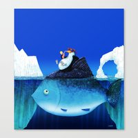 We all need some sun! Canvas Print