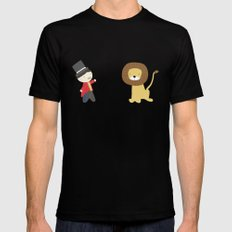 Lion Tamer SMALL Mens Fitted Tee Black