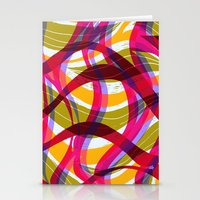 Lino Curves Stationery Cards