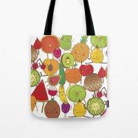 Veggies Fruits Tote Bag