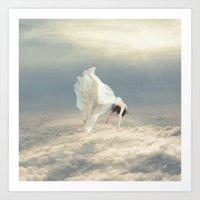 Free Falling Dream Art Print