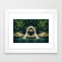 Kaleidoscape: Finca Paraíso Framed Art Print