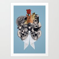Curiosity And Suspicion Art Print