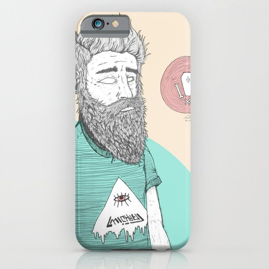 BEARDMAN iPhone & iPod Case