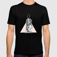Nature Girl Mens Fitted Tee Black SMALL