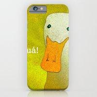 White Duck! iPhone 6 Slim Case