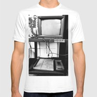 Mind Control Mens Fitted Tee White SMALL