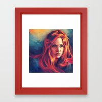 Amy Pond Framed Art Print