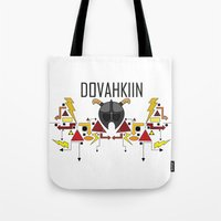 Skyrim: The Dovahkiin - … Tote Bag