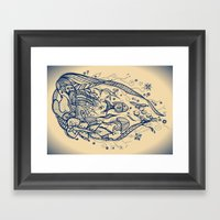 Power Of Water Framed Art Print