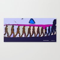Army Dreamers Canvas Print