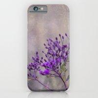 Purple Wildflowers iPhone 6 Slim Case