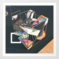 Construct II Art Print